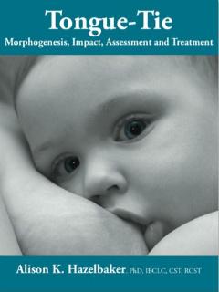 TONGUE-TIE MORPHOGENESIS-IMPACT-ASSESSMENT-AND-TREATMENT